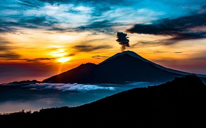 Mt Batur to Mt Agung