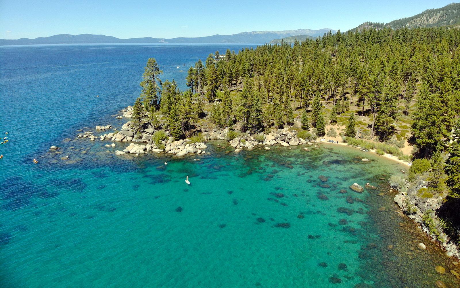 Lake Tahoe - Drone Image