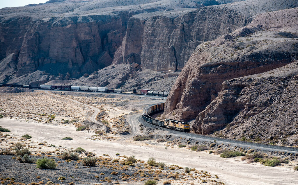 Afton Canyon Train