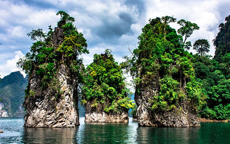 Khao Sok National Park - Three Brothers