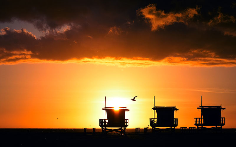Venice Beach Lifeguard Towers