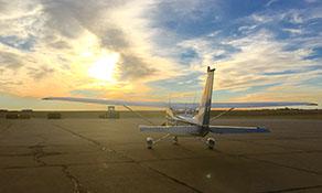 KSNY plane sunset.jpg