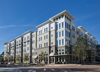 exterior view at The Ivy Residences at Health Village in Orlando Florida