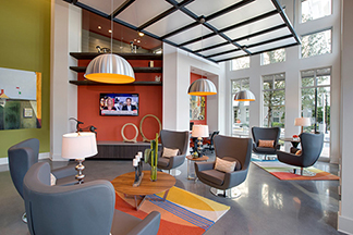 interior view at The Ivy Residences at Health Village in Orlando Florida