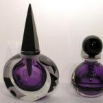 Corriea Art Glass - Purple Perfumes