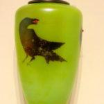 Fields & Fields - Green Lidded Raven