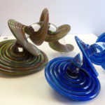 Vitrix Hot Glass Studio - Heechee Multi Cobalt