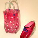 Hot Glass Studios - Handbag and Shoes Ruby