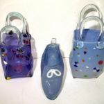 Hot Glass Studios - Handbags and Shoes Purple