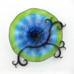 Nathan Macomber - Lime Aqua Wall Sculpture