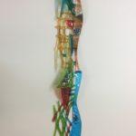 Sabra Richards - Tall Vertical Wall Sculpture 1