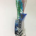 Sabra Richards - Tall Vertical Wall Sculpture 2