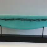 Patty Roberts - Wrapped Boat in Aqua