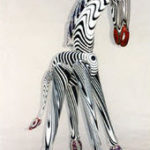 Heath Art Glass - Zebra