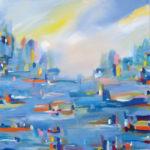 John Kneapler - City Lights on Water