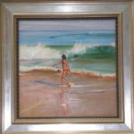 Susan Grossman - Little Girl in Surf