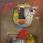 Terri Hallman - Untitled Face