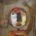 Terri Hallman - Untitled Face II