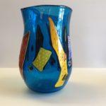 Beck Glass - Blue Vase