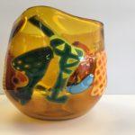 Beck Glass - Gold Vase