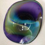 Gerald Patterson - Blue Purple Plate