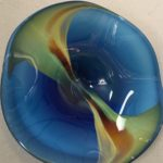 Gerald Patterson - Plate in Blue