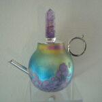 Elaine Hyde - Purple Crystal Teapot