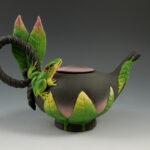Nancy Yturriaga Adams - Woodland Frog Teapot