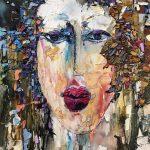 Maya Eventov - Abstract Face