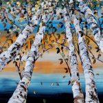 Maya Eventov - Birch Looking Up