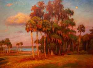 AFTERNOON PASTORAL 31X42