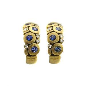Candy Earrings Saphire E-122S
