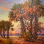 Tom Sadler - Palm Sunset