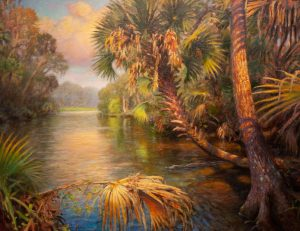 PALMETTO JUNGLE 30X24