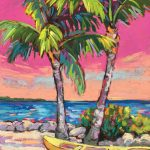 Palms Dance in Pink