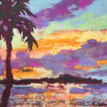 Snooks Sunset 11 x 14 Pastel