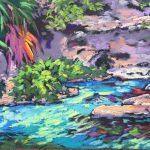Spring Dream 12 x 24 Pastel