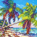 Swaying Palms 30 x 40 Giclee
