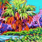 Wekiva Palm 11 x 14 Acrylic