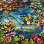 Maya Eventov - Pond with Lilies