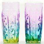 Tropical Iceberg Glass - Alien Rainbow Glass