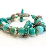 Julie Powell Designs - Turquoise Stone Cuff