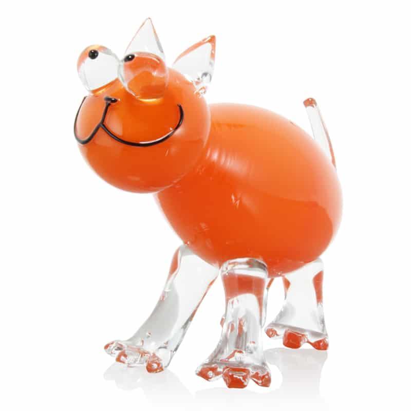 Cat-orange 9 x 5 x 4