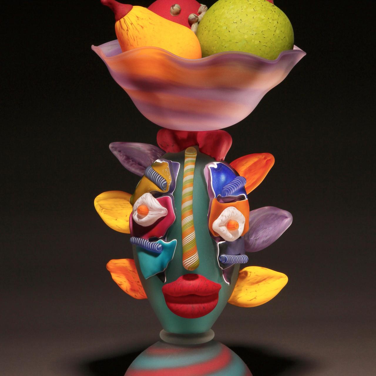 James Wilbat - Woman with Fruit Basket