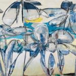 Helen Zarin - Fleurs Abstracto