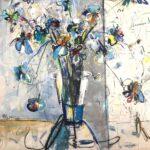Helen Zarin - Fleurs Abstracto XII