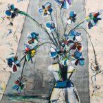 Helen Zarin - Fleurs Abstracto IX