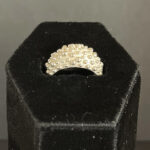 Dahlia Kanner - Bumpy Tapered Rome Top Ring