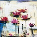 Helen Zarin - Fleurs Abstracto X-1