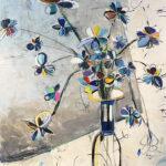 Helen Zarin - Fleurs Abstracto XVI